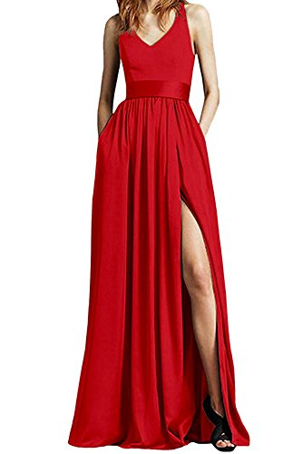 Linie the of Leader A Rot Beauty Damen Kleid 5gX5wd6qxn