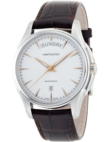 Hamilton Jazzmaster White Dial SS Leather Automatic Men's Watch - 5 Stocks Than For Less Dollars Best