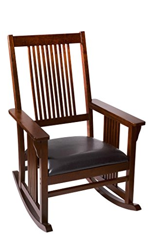 Bon Mission Rocking Chair Color: Cherry