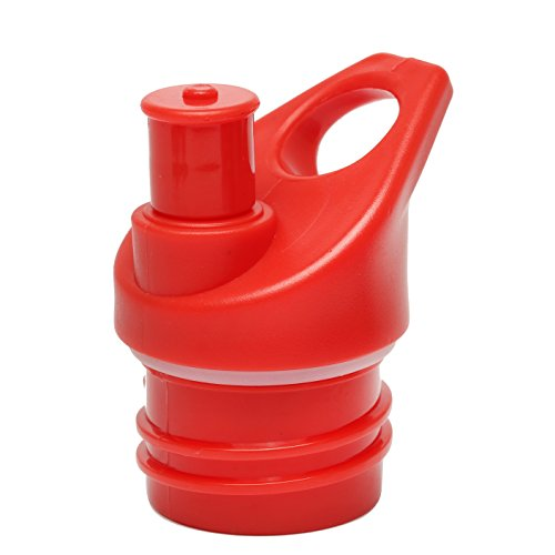 Sport Top Lid for Hydro Flask Standard Size Insulated Water Bottle and Simple Modern Narrow Bottle. (Red)