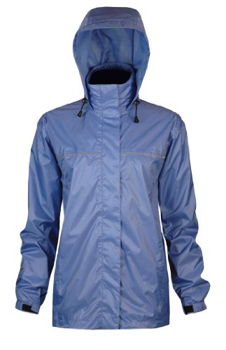Viking Women's Windigo Waterproof Packable Rain Jacket, Hydro Blue, XX-Large ()