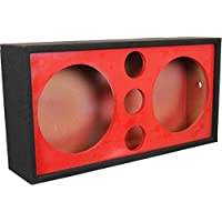 DEEJAY LED 2X12TRIPPLETWEET Chuchera Triple Tweeter, 12 Red Box