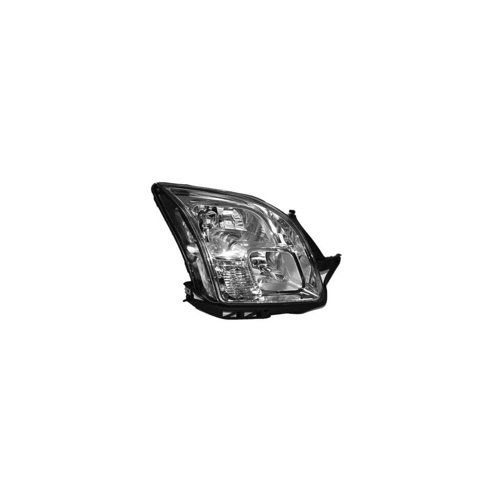 2006 08 FORD FUSION HEADLIGHT ASSEMBLY, PASSENGER SIDE   DOT Certified