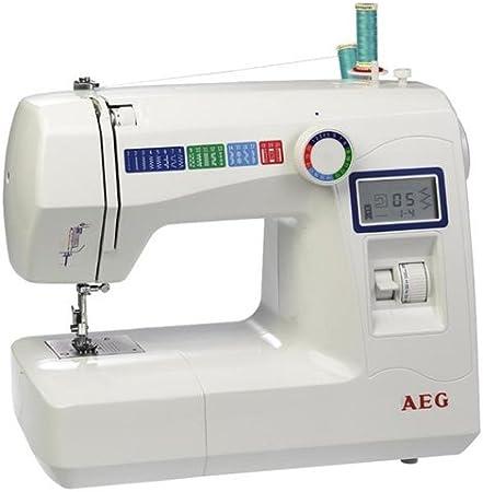AEG Máquina de Coser 227 LCD: Amazon.es: Hogar