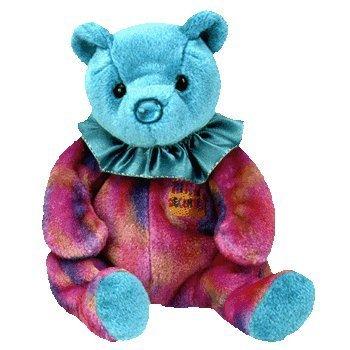 Ty Beanie Baby December Turquoise Birthstone Teddy Happy Birthday -