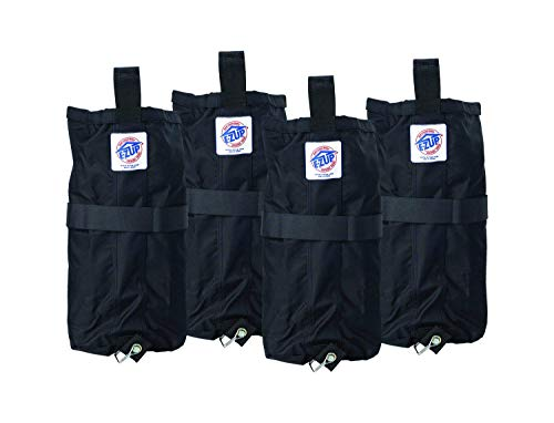 (E-Z UP Instant Shelters Deluxe Weight Bags - Set of 4 Canopy Weight Bags )