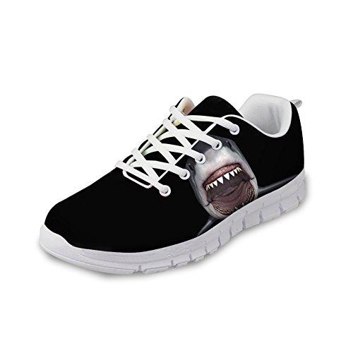 Knuffels Idee 3d Dieren Patroon Herenmode Lichtgewicht Sneakers Haai