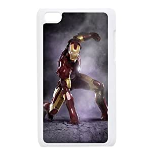 D-PAFD Customized Phone Case Of Iron Man For Ipod Touch 4