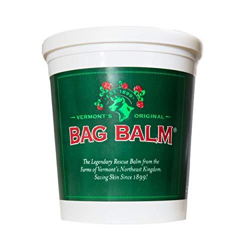 Bag Balm Vermont's Original 4.5 lb. Pail for Cracked Hands, Dry Skin, Moisturizing Lotion Salve