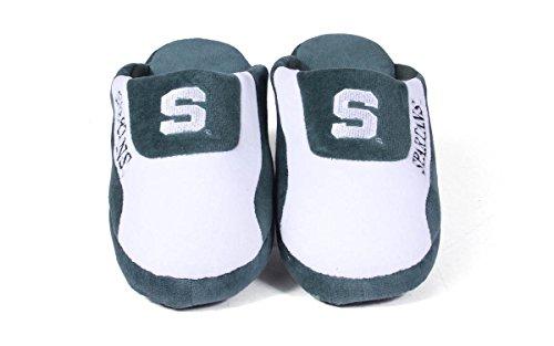 Happy Feet Mens Och Womens Officiellt Licensierade Ncaa College Låga Pro Tofflor Michigan State Spartans