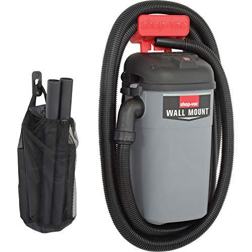 SHOP VAC CORP 3941000 4.0 Peak Hp Wall Mount Vacuum Unit, 5 Gallon (Hanging Wall Shop Vac)