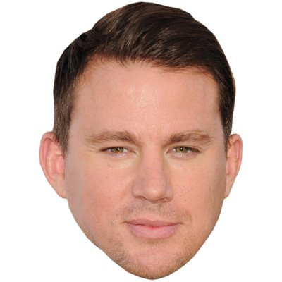 Channing Tatum Celebrity Mask  Card Face And Fancy Dress Mask