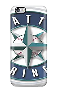 Awesome Design Seattle Mariners Hard Case Cover For Iphone 6 Plus