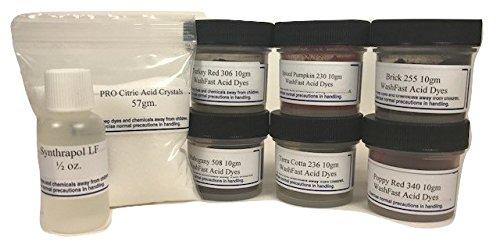 (WashFast Fire Acid Dye Sampler)