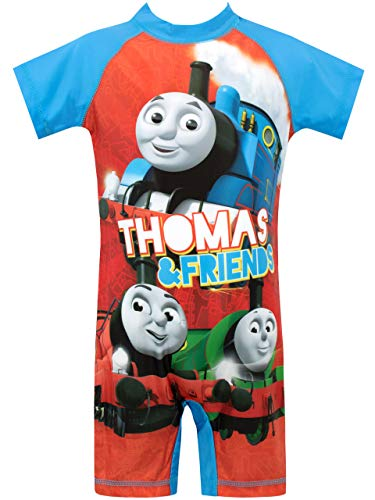 Thomas and Friends Boys' Thomas The Tank Engine Swimsuit Multicolor Size 3T]()
