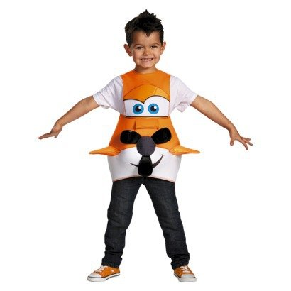 Infant/toddler Disney Planes Dusty Cropper Boys Halloween Costume (FITS UP TO SIZE 6)