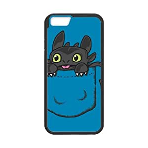 iPhone 6 4.7 Inch Cell Phone Case Black Pocket Toothless Igqou