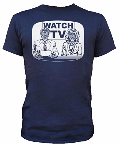 They Live on TV Mens Tee Shirt