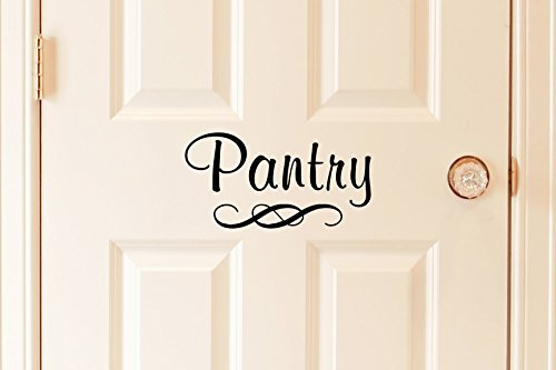 Pantry Decal - Vinyl Art Wall Decal for the Home or Kitchen Pantry - 9