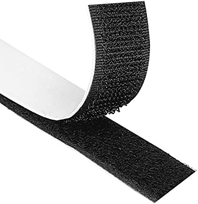 8m x 20mm Self Adhesive Tape Hook and Loop Fastener Extra Sticky Back