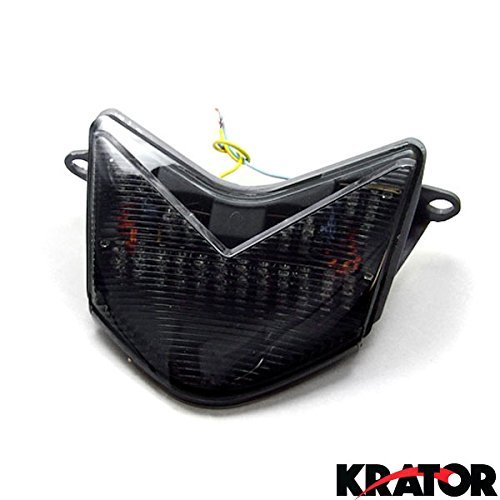 - Krator ITL007 Turn Signals (2005-2007 Kawasaki ZX6RR 636 / Z750S / ZX10R LED TailLights Brake Tail Lights with Integrated Indicators Smoke Motorcycle)