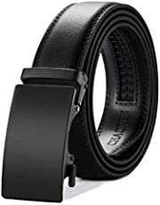 Mens Belt, CHAOREN Ratchet Belts for Men with Genuine Leather, Trim to Fit in Gift Box