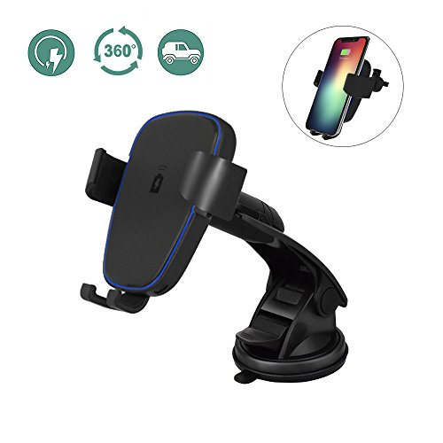 Wireless Car Charger for iPhone X/ 8 / 8 Plus, and...
