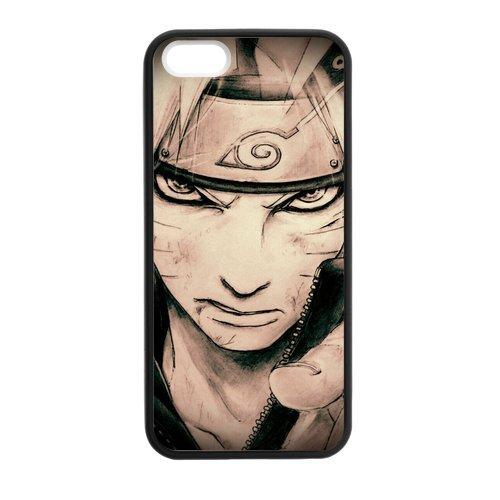 iPhone 5S Custodia protettiva cover posteriore per Apple Iphone 5S, iPhone 5Custodia per iPhone 5S, Naruto Tpu Cover per iPhone 5/5S
