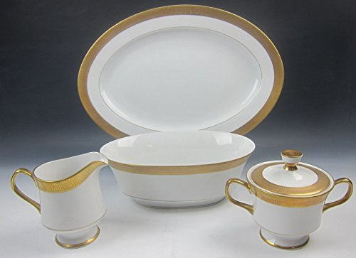 Lot of 4 Sango China GEORGETOWN 3755 Serving Pieces EXCELLENT