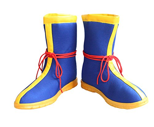 [Dragon Goku Ball Z Shoes Dacron Cosplay Costume Mens Fashion Boots 38] (Goku Costume Women)