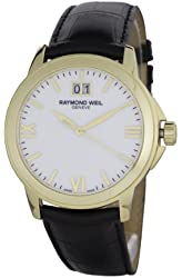 Raymond Weil Men's 5476-P-00307 Tradition White Dial Watch