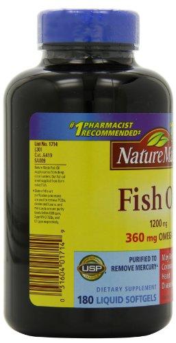 031604017149 - Nature Made Fish Oil Omega-3 1200mg, (180 Liquid Soft Gels) carousel main 8