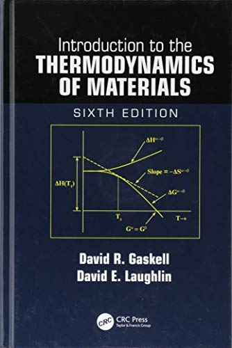 Introduction to the Thermodynamics of Materials from CRC Press