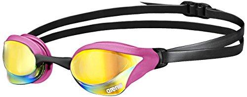 arena Cobra Core Mirror Swim Goggles Pink Copper, Pink, Black
