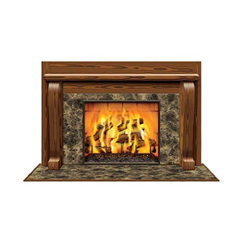 Bargain World Fireplace Insta-View (with Sticky Notes) by Bargain World