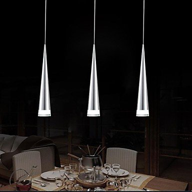 BL American style modern retro Pendant Lights LED Modern/Contemporary Living Room/Bedroom/Dining Room/Kitchen Metal , White