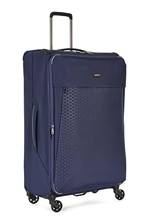 Antler 4081113015 Oxygen 4W Large Roller Case Suitcases (Softside), Blue, 81 cm