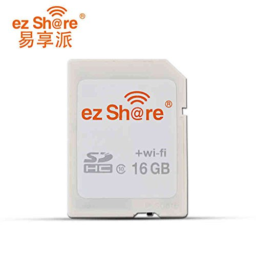 WiFi Sd Card Ez Share Flash Card 16G 32G Capacity Sdhc Sdxc Memory Sd Card 64G 128G C10 Camera … (64GB)