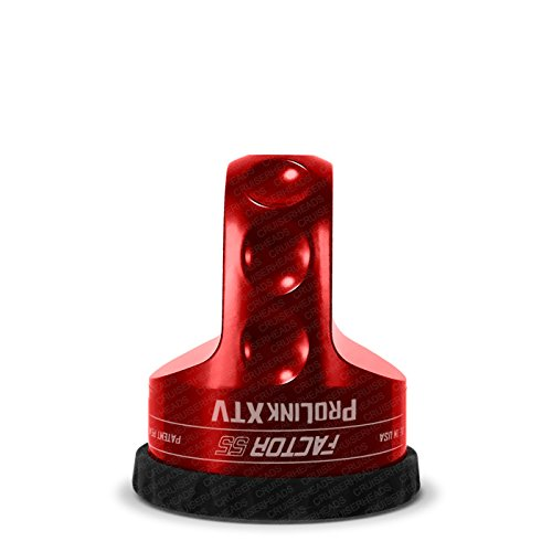 Factor 55 ProLink XTV Loaded Shackle Mount With Titanium Pin /& Rubber Guard 6,000 Lbs Red Factor55 5559008546