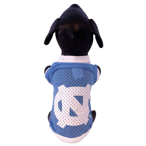 NCAA North Carolina Tar Heels Athletic Mesh Dog Jersey (Team Color, XX-Large)
