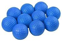 C-Pioneer 10 Pack PU Foam Golf Practice Balls Elastic Sponge Indoor Practice Training Balls