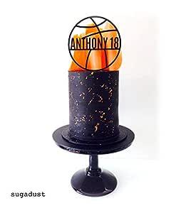 Decoración para tarta de baloncesto | decoración para tarta ...
