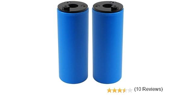 SAVAGE - Diablos para Bicicleta, Color Azul (Blue): Amazon.es: Deportes y aire libre