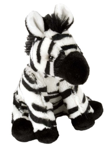 Wild Republic Zebra Baby Plush, Stuffed Animal, Plush Toy, Gifts for Kids, Cuddlekins 8 Inches