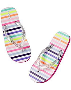 Baby Girl Flip Flops with Back Strap - Spring / Summer P