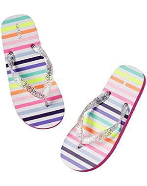 Baby Girl Flip Flops with Back Strap - Spring / Summer P