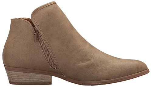 SOUL NATURAL Dark Boot Ankle Women's Taupe Harvard rZfwXdrxq