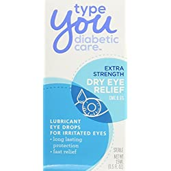 Type You Diabetic Care, Dry Eye Relief, 0.5 Ounce