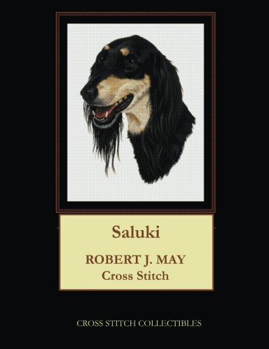 Saluki: Robt. J. May Cross Stitch Pattern