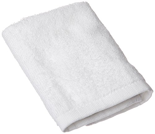 (Pacific Linens Washcloths-Hand-Face Towels -10 Pack-600-GSM, 100% Cotton, White, Extra Soft Low Twist Ring Spun Yarn Cotton Washcloths, Highly Absorbent (White))